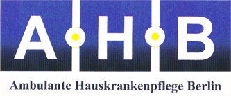 AHB Ambulante Hauskrankenpflege Berlin GmbH - Logo